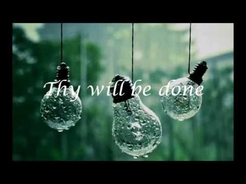 """Thy Will""- Hillary Scott (Lyrics)"