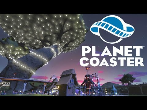 The Great Tree - Princess Amelie's Fairy Tale #1 - Planet Coaster Gameplay PC