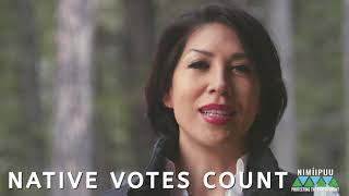 Paulette Jordan Get Out the Vote 2020 Nimiipuu Protecting the Environment