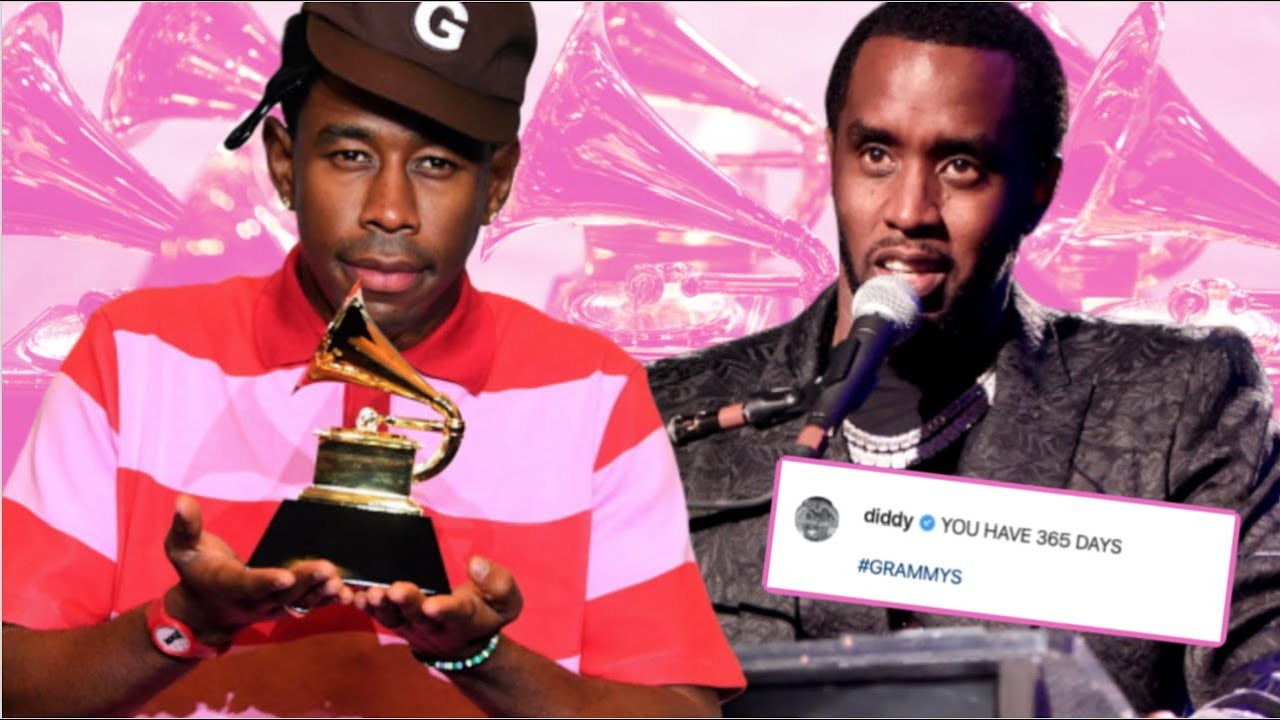 DIDDY & TYLER HAD A MESSAGE F0R THE GRAMMYS → 'B.L.K MUSIC HAS NEVER BEEN RESPECTED'
