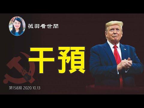 薇羽看世间:【第158期】中共如何干预美国大选?最近发生的几件事,它们在暗处使劲,打击川普,为民主党拜登开路。
