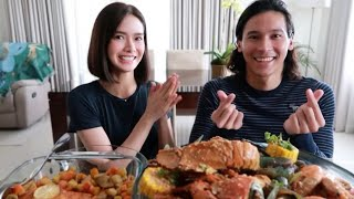 Seafood Mukbang + Q&A with Enchong Dee ♥️ | Erich Gonzales