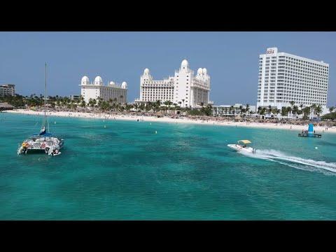 PALM BEACH ARUBA! Caribbean Cruise Destination. #gopro #aruba #travel #palmbeach