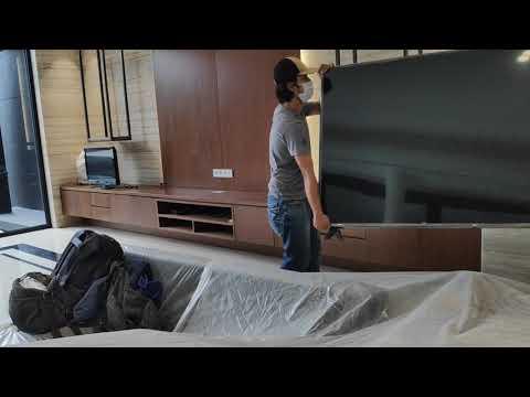 UnBoxing Tv LG UHD AI Thinq 75 inch
