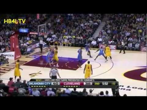 "Marreese Speights 21 pts. Highlights ""Cavs vs. Thunder"" (02.02.13) HB4L TV"