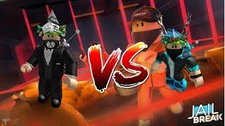 Roblox jailbreak 1v1 moblie (ft) NinjaskullUK430