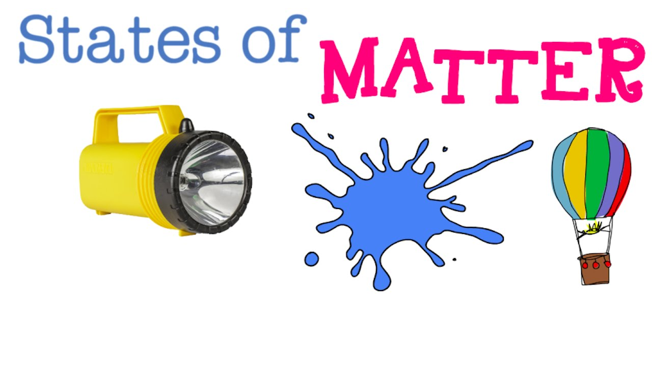 states of matter : solids, liquids and gases : funza academy science