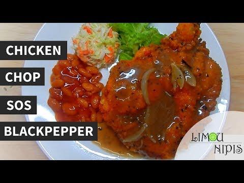 En Chop Dan Sos Blackpepper