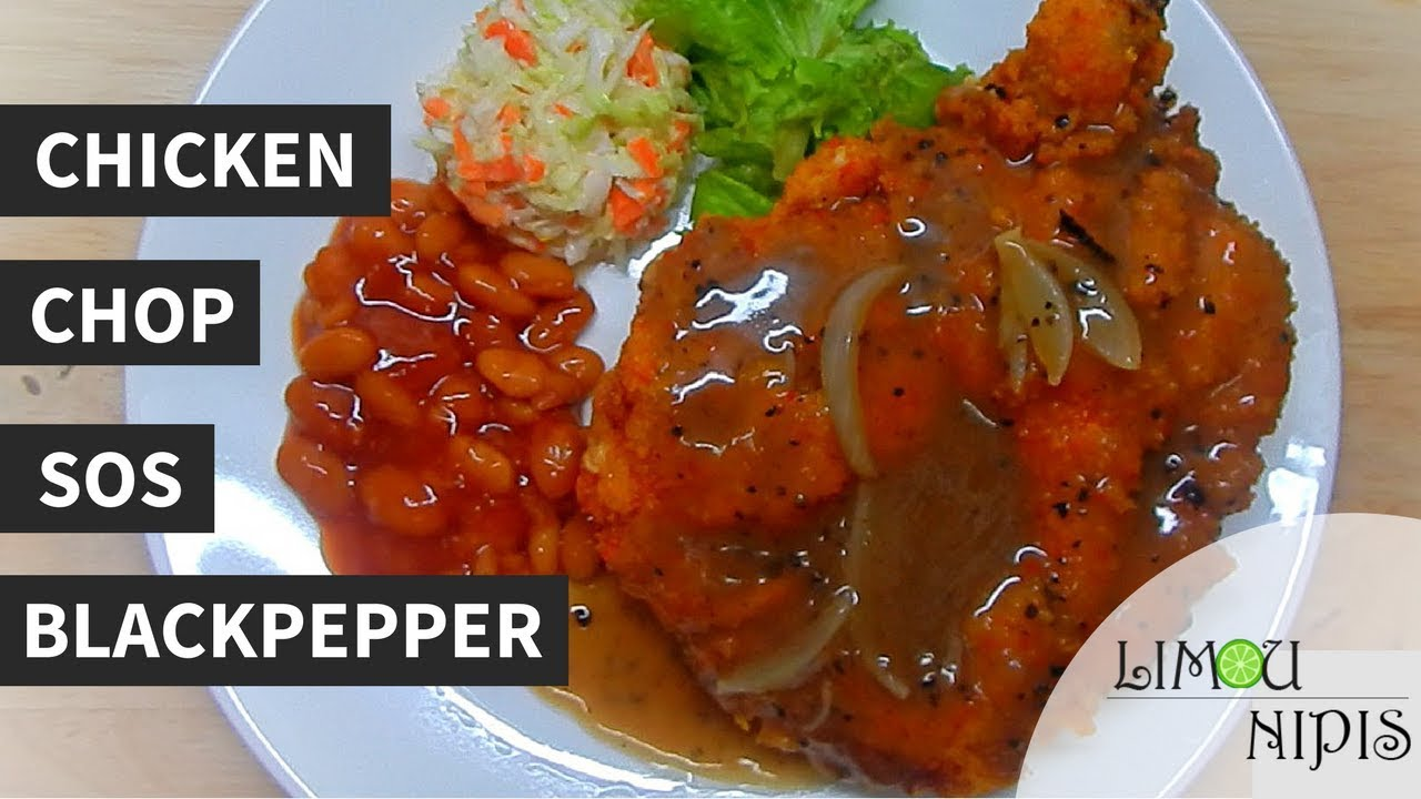 Resepi Sos Chicken Chop Simple