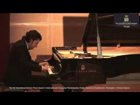 5th International German Piano Award Final: Audience Award 2015 Andrejs Osokins