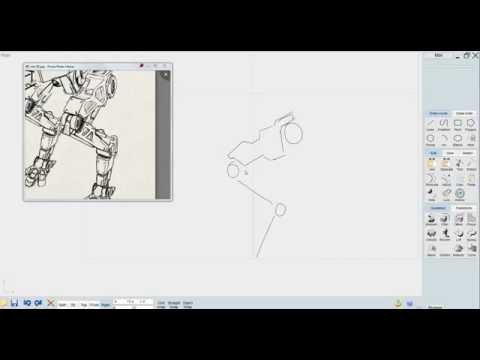 MOI 3D, Modeling Mech [part 1]