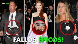 """Los 10 """"FALLOS"""" De GUARDARROPA Más ÉPICOS De Las CELEB..."""
