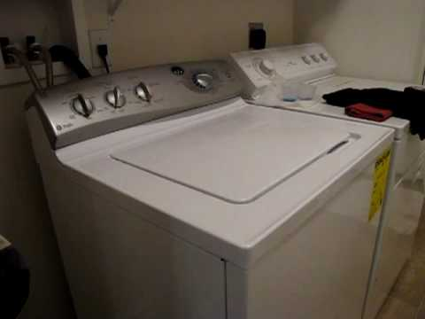 Kenmore Washer Repair >> Noisy New GE Washing Machine - YouTube