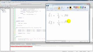 C Programming Tutorial 84, Generic Binary Search Algorithm