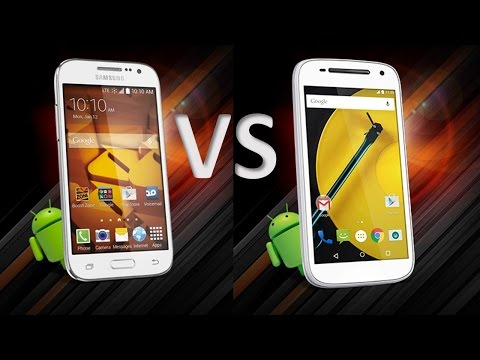 Samsung Galaxy prevail LTE  VS Moto E  for Boostmo