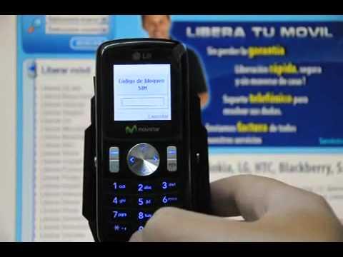 Liberar LG KP100, cómo desbloquear LG KP100 de Movistar Movical Net