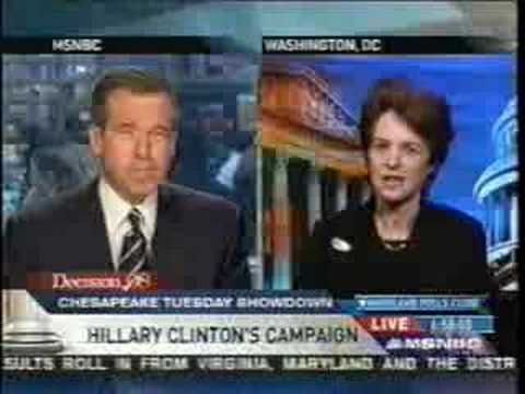 MSNBC - KATHLEEN KENNEDY TOWNSEND ON HILLARY CLINTON
