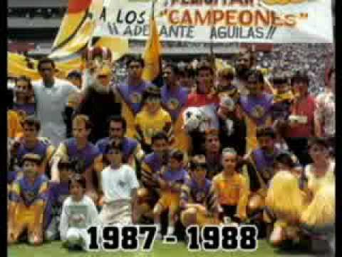 Club Amrica Campen 1987 1988flv YouTube