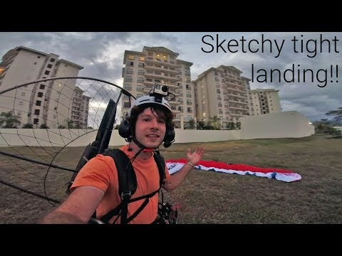 We Landed Our Paramotors At A Hotel! - ParaCosta Day 4