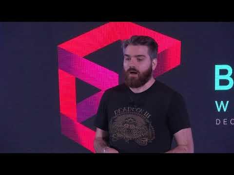 Keynote session: Status - A path towards mainstream adoption of Ethereum by Jarrad Hope