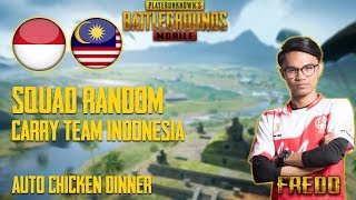 Squad Random!! Player Indonesia Terkejut Tengok Skill Fredo Sameon | PUBG Mobile Malaysia