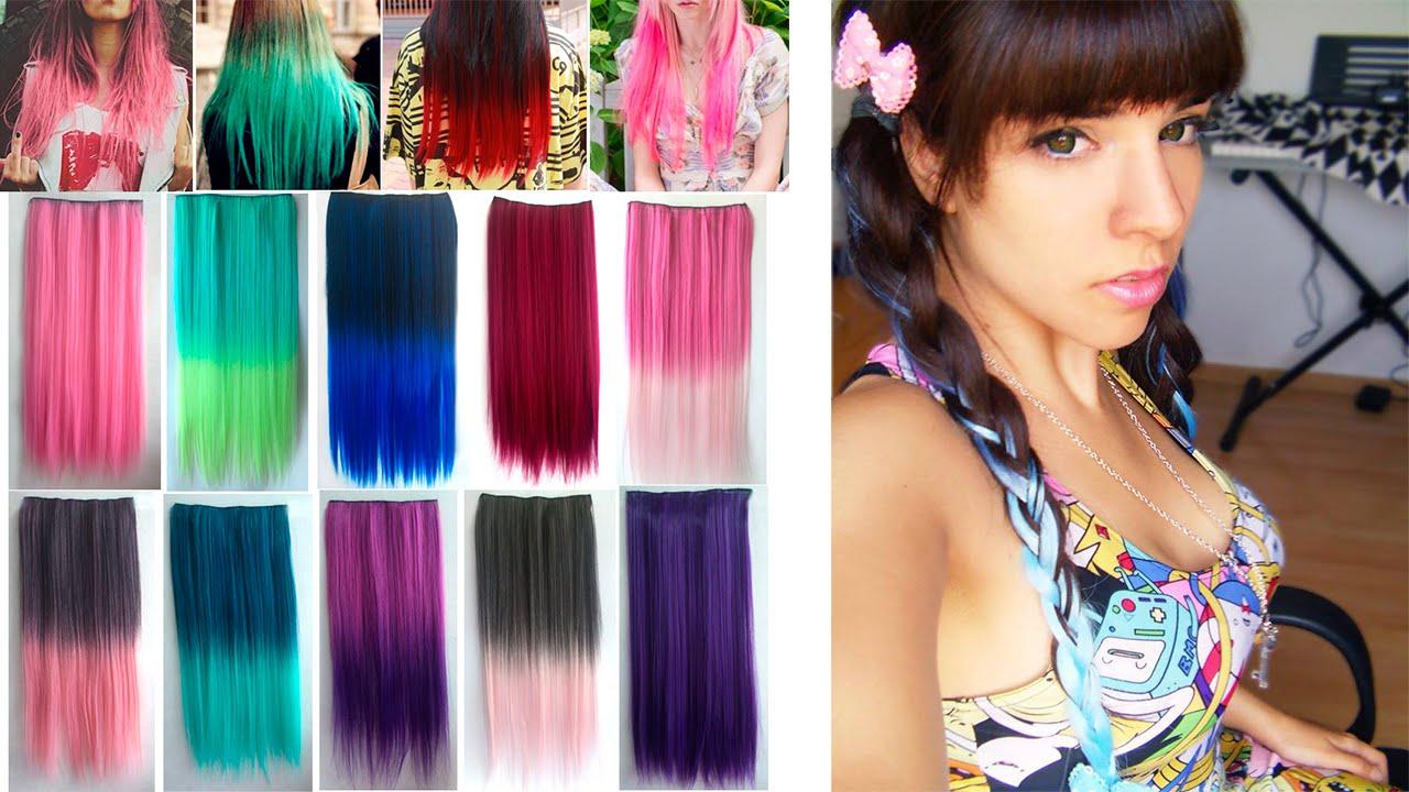 Imagenes de pelo color fantasia