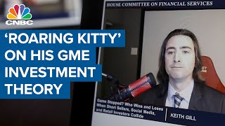 Reddit trader 'Roaring Kitty' explains his GME investment theory