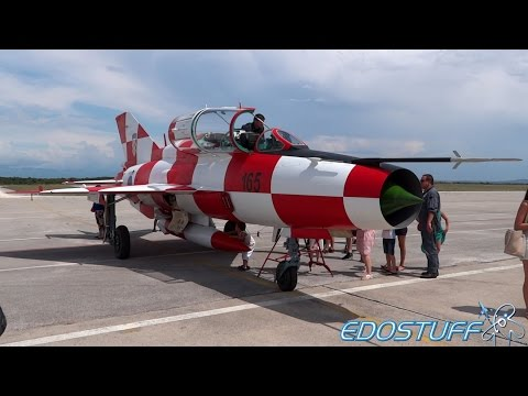 Victory Day Air Show! - Zemunik Air Base - Dan Otvorenih Vrata/Open Doors Day - 2014 Croatia HD