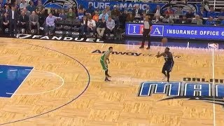 Shelvin Mack Throws Embarrassing Over And Back Pass To Himself! Celtics vs Magic!