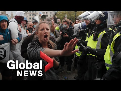 Coronavirus: Anti-lockdown protesters
