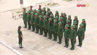 Nữ tân binh sau 1 tháng quân ngũ