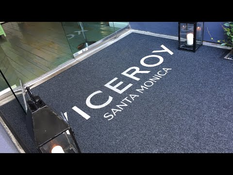 Santa Monica, CA - The Viceroy Hotel - King Oceanfront Room & Hotel Grounds