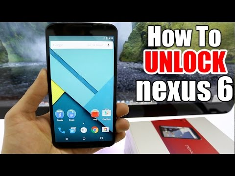 How To Unlock Nexus 6 -  AT&T, T-mobile, Rogers, Or Any Gsm Carrier