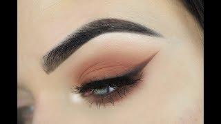 Dose of Colors Sassy Siennas   Smokey Wing Eye Makeup Tutorial