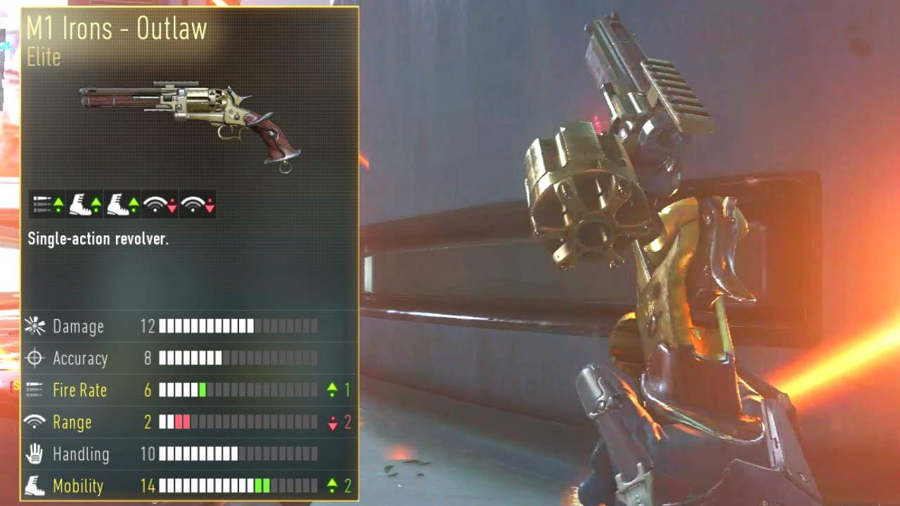 """M1 Irons - Outlaw"" (Elite Weapons of Advanced Warfare ..."