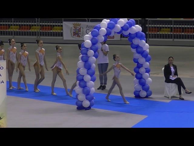 1º parte campeonato de españa gimnasia estetica de grupo