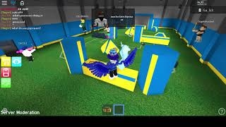 PLAYING WITH THE OWNER OF A ROBLOX ASSASSIN SANDBOX!