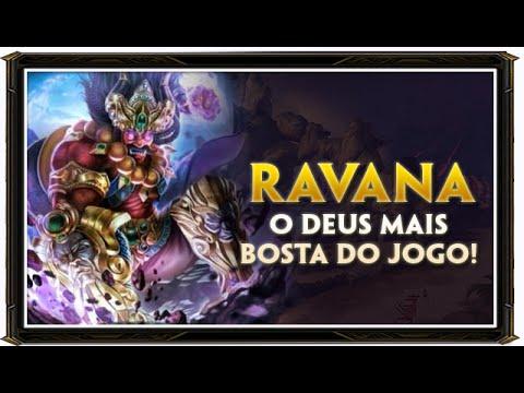SMITE BRASIL - RAVANA DEU RUIM!