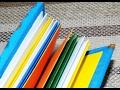 Поделки - Как сделать блокнот с нуля в подарок СВОИМИ РУКАМИ