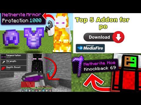 Top 5 Addons for Minecraft pe Minecraft Top 5 Addons for Minecraft pe Top 3 Addons for Minecraft pe