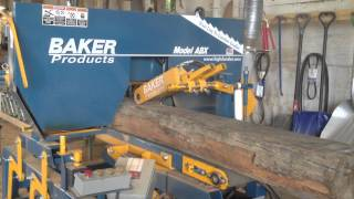Montana Reclaimed Lumber Co. -the Baker Milling A Hand Hewn White Oak Timber