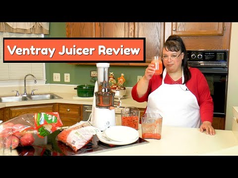Juicing Recipe ~ How To Use A Juicer ~ Ventray Masticating Slow Juicer Review