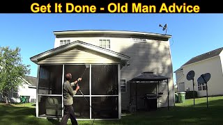 Satisfying House Wash with Pressure Wash Business Tips Mixed In
