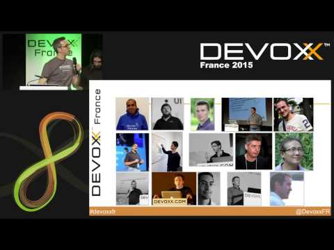 Keynote de l'équipe Devoxx France