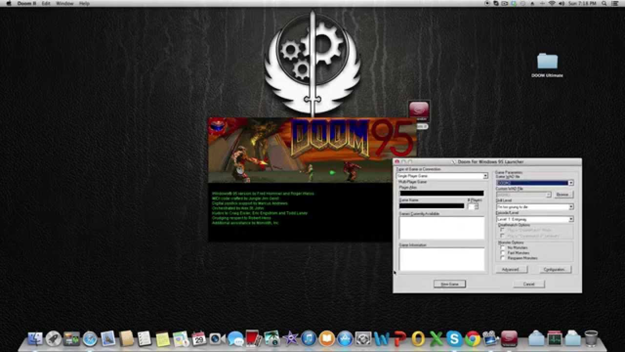 How to install Doom II on Mac Os X