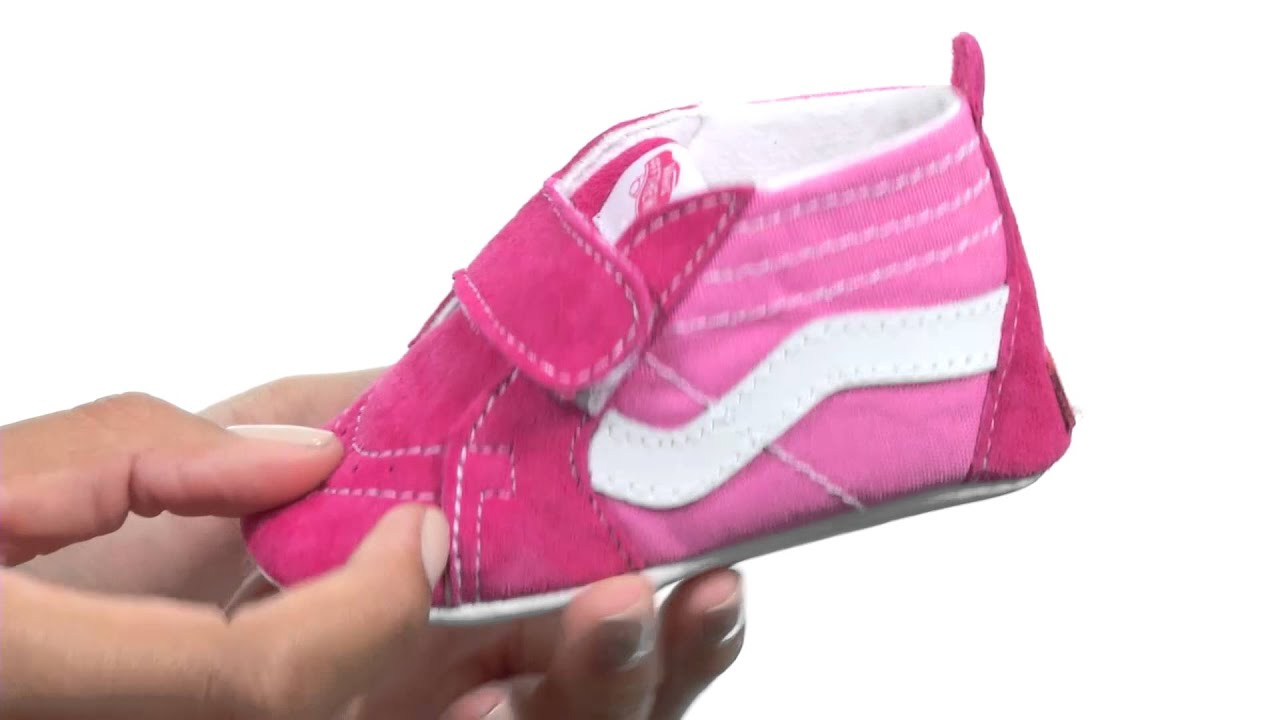 ce63f98492 Vans Kids SK8-Hi Crib (Infant Toddler) SKU 8553821 - YouTube