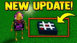 TIC-TAC-TOE UPDATE!! (egg Hatched) | Build a boat For Treasure ROBLOX