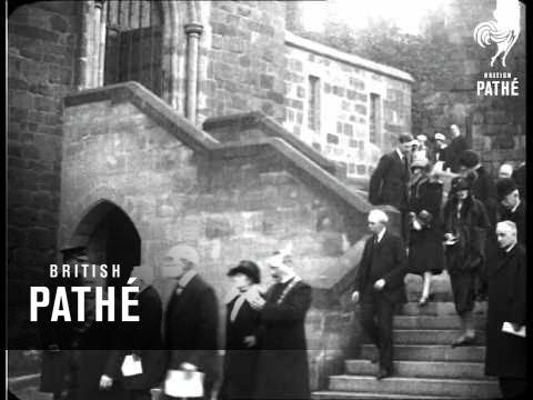 Shrewsbury Castle Opened (1926)