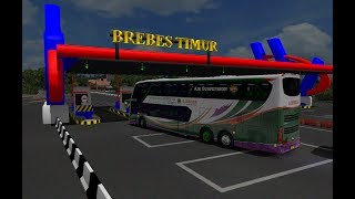 Lorena jalur TOL BREBES TIMUR || ets 2 bus mod indonesia