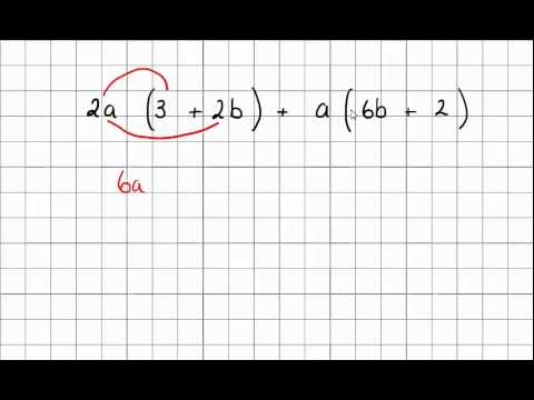 Expand brackets and collect like terms